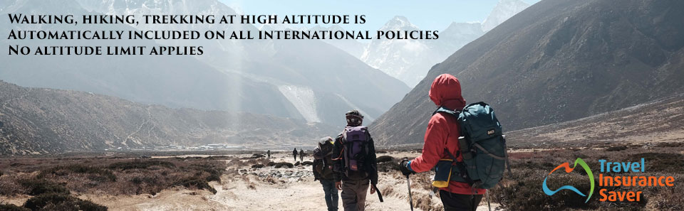 Altitude travel insurance to trek the Himalayas