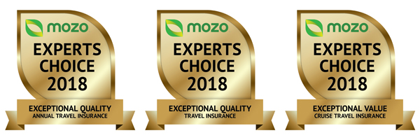 Travel Insurance Saver Mozo Awards 2018